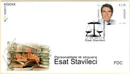 Kosovo Stamps 2017. National Personalities: Esat Stavileci. FDC MNH - Kosovo