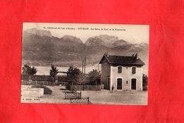 F1201 - SEVRIER - 74 - La Gare Le Port Et La Tournette - Otros Municipios