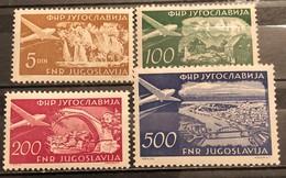 Yugoslavia, 1951, Mi: 689/92 (MNH) - 1945-1992 Repubblica Socialista Federale Di Jugoslavia