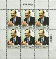 Kosovo Stamps 2017. Personality Eliot Engel. Mini Sheet MNH - Kosovo