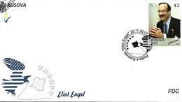 Kosovo Stamps 2017. Personality Eliot Engel. FDC Set MNH - Kosovo