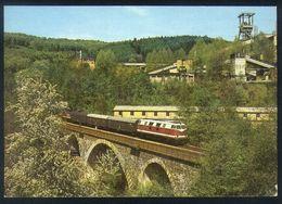 X04 - Germany - Locomotive 118776 Schlema 1986 - Trains