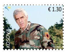 Kosovo Stamps 2017. Soldiers: Xheladin Gashi-Plaku. Set MNH. - Kosovo