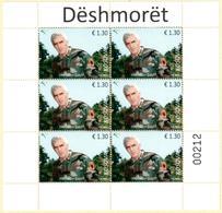 Kosovo Stamps 2017. Soldiers: Xheladin Gashi-Plaku. Mini Sheet MNH - Kosovo