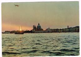V3678 Venezia - Tramonto Sul Bacino Di San Marco - Coucher Sunset / Viaggiata - Venezia