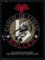 Rare // Etiquette De Vin // Roller //  Gamay, Rollet-Club Du Lausanne-Sport - Etiquettes