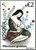 Kosovo Stamps 2017. Sustaining Breastfeeding. Breast Feeding. Set MNH - Kosovo