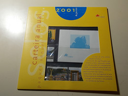 Carteira Anual * Annual Package * 2001 * Açores - Booklets