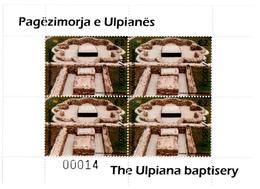 Kosovo Stamps 2017. The Ulpiana Baptisery. Archeology. Sheet MNH - Kosovo