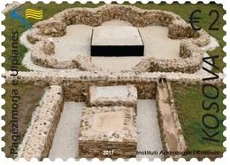 Kosovo Stamps 2017. The Ulpiana Baptisery. Archeology. Set MNH - Kosovo