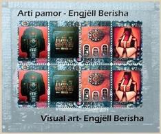 Kosovo Stamps 2017. Visual Art - Engjell Berisha. Sheet MNH - Kosovo