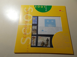 Carteira Anual * Annual Package * 2001 * Madeira - Booklets
