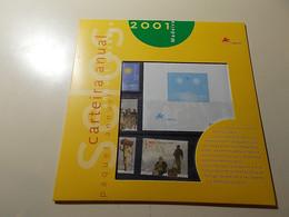 Carteira Anual * Annual Package * 2001 * Madeira - Libretti