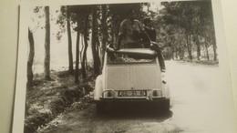 """Ancienne Photo D'une Voiture """" 2 Chevaux """" Ancienne - Automobiles"""