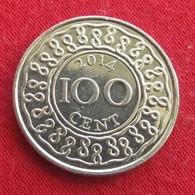 Surinam 100 Cents 2014 Suriname Surinão - Surinam 1975 - ...