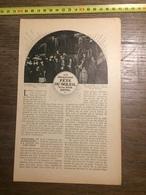 1909 DOCUMENT LA PROCHAINE FETE DU SOLEIL A LA TOUR EIFFEL - Vieux Papiers
