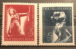 Yugoslavia, 1951, Mi: 662/63 (MNH) - Nuovi