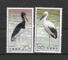LOTE 1816   ///  (C080)   CHINA 1992-Storks **MNH     ¡¡¡ OFERTA !!!! - 1949 - ... República Popular