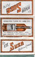 Pochette Papier à Cigarettes Publicité Suze (complet) - Cigarettes - Accessoires