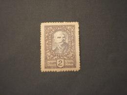 MONTENEGRO - VARIETA' - 1919 RE 2 D., SENZA LA I DI D NARA - NUOVO(++) - Montenegro