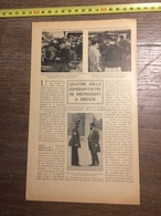 1909 DOCUMENT QUATRE 4 MILLE ESPERANTISMES SE REUNISSENT A DRESDE - Vieux Papiers