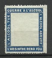 FRANKREICH France Guere A L'Alcool Vignette * - Erinnophilie