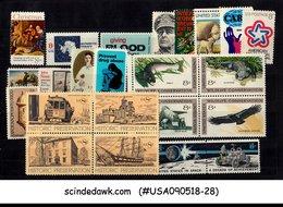 UNITED STATES USA - 1971 COMMEMORATIVE COMPLETE SET SC#1423-45 23V MNH - Vereinigte Staaten