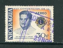 NICARAGUA- P.A Y&T N°381- Oblitéré - Nicaragua