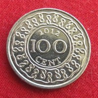 Surinam 100 Cents 2012 KM# 23 Suriname Surinão - Surinam 1975 - ...