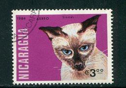 NICARAGUA- P.A Y&T N°1053- Oblitéré (chat) - Domestic Cats