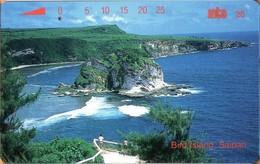 Northern Mariana Islands - NMI-MT-11, Bird Island, Saipan, Coastal Areas, 15,000ex, 25U, 1994, Used - Northern Mariana Islands