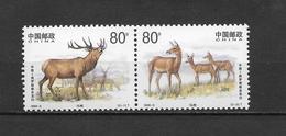 LOTE 1817   ///  (C050)   CHINA 1999-Red Deer  **MNH     ¡¡¡ OFERTA !!!! - 1949 - ... República Popular