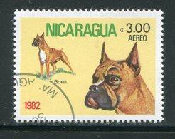 NICARAGUA- P.A Y&T N°981- Oblitéré (chien) - Dogs