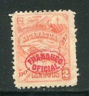 NICARAGUA- Service Y&T N°63- Neuf Avec Charnière * - Nicaragua