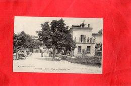 F1201 - GREOUX Les BAINS - D04 - Hôtel Des Alpes Et La Poste - Gréoux-les-Bains