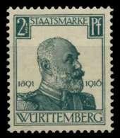 WÜRTTEMBERG DIENST Nr 241 Postfrisch Gepr. X70C28A - Wurttemberg
