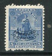 NICARAGUA- Service Y&T N°94- Neuf Avec Charnière * - Nicaragua