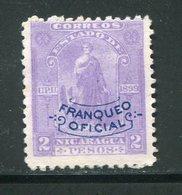 NICARAGUA- Service Y&T N°100- Neuf Sans Charnière ** - Nicaragua