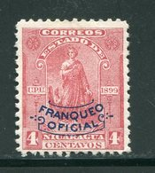 NICARAGUA- Service Y&T N°93- Neuf Sans Charnière ** - Nicaragua