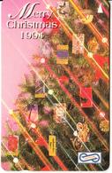 MALAYSIA(GPT) - Merry Christmas 1994, CN : 8USBA, Used - Malaysia