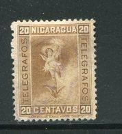 NICARAGUA- Timbre Télégraphe Y&T N°70- Oblitéré - Nicaragua