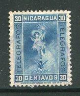 NICARAGUA- Timbre Télégraphe Y&T N°71- Oblitéré - Nicaragua