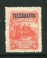 NICARAGUA- Timbre Télégraphe Y&T N°12- Neuf Avec Charnière * - Nicaragua