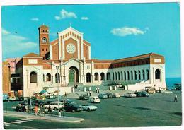 V3694 Nettuno (Roma) - Basilica Santuario Di Santa Maria Goretti - Auto Cars Voitures / Viaggiata 1976 - Altre Città