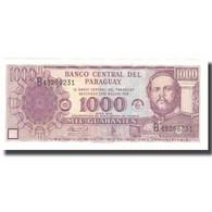 Billet, Paraguay, 1000 Guaranies, 2002, 2002, KM:221, NEUF - Paraguay