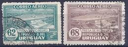 180030890  URUGUAY YVERT  AEREO  Nº   84/85A - Uruguay
