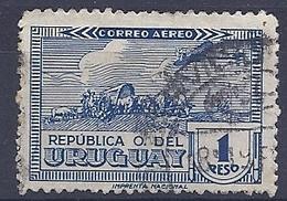 180030892  URUGUAY YVERT  AEREO  Nº   92A - Uruguay