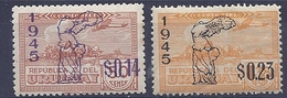 180030893  URUGUAY YVERT  AEREO  Nº   111/3  */MH - Uruguay