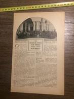 1909 DOCUMENT LE SHAH DE PERSE AUX PRISES AVEC SON PARLEMENT - Vieux Papiers