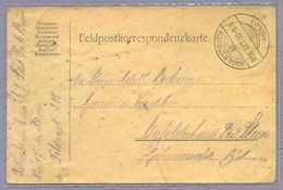 Austria Hungary 1916 Bustyahaza Bushtyno Ukraine WWI Feldpostkarte Tabori Postai Polni Pošta - Cartas